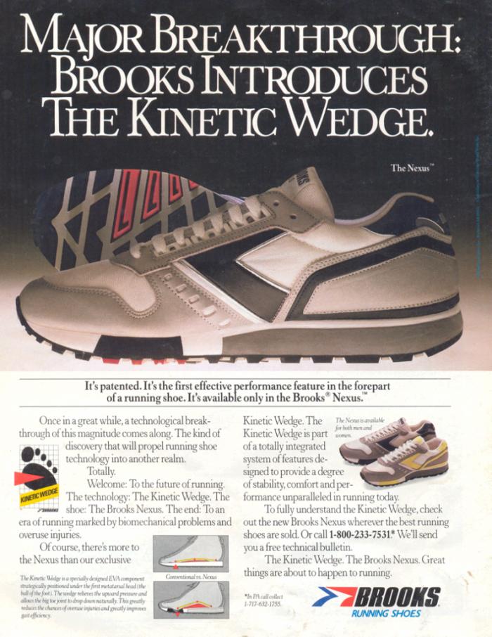Brooks Kinetic Wedge - 1986